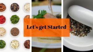 start cooking Thai food in 3 steps