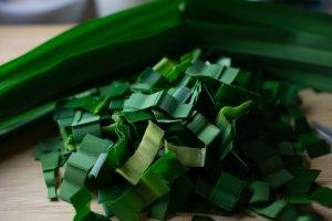 Thai vanilla-like flavor leaves