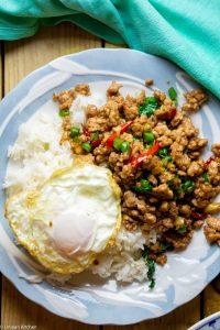 stir-fried Thai basil