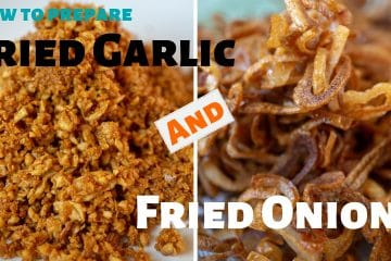How to prepare fried garlic and fried onion like a pro